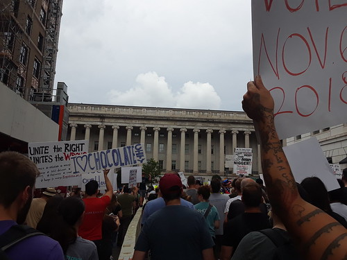 The March From Freedom Plaza to Lafayette Square