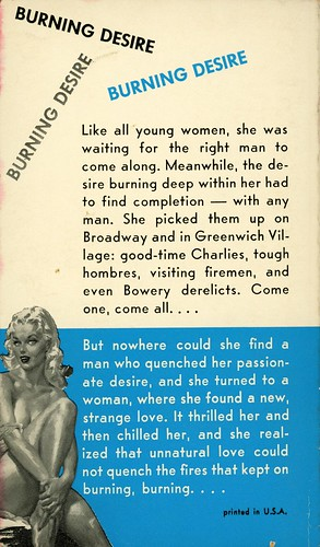 Midwood Books 37 - March Hastings - Anybody's Girl (back)