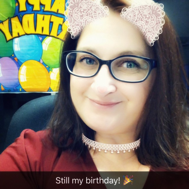 Yes. Yes it is. 😉 #BirthdayDay37