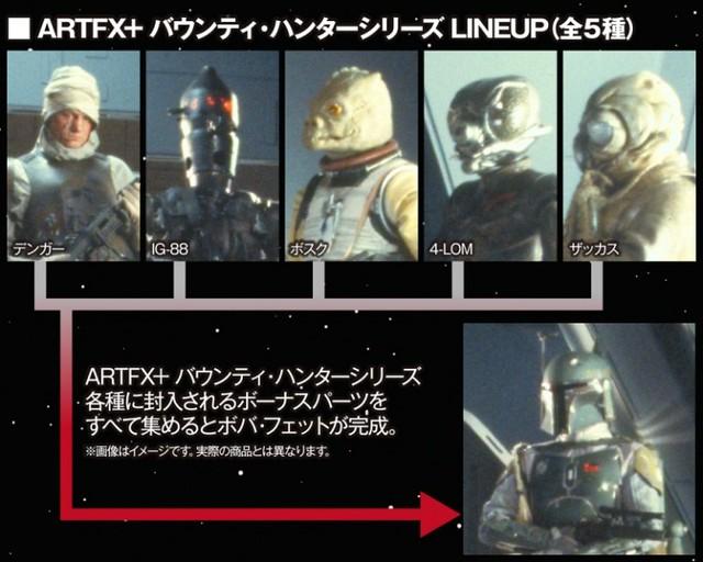ARTFX+《星際大戰五部曲:帝國大反擊》「賞金獵人登葛爾」!バウンティ・ハンター デンガー