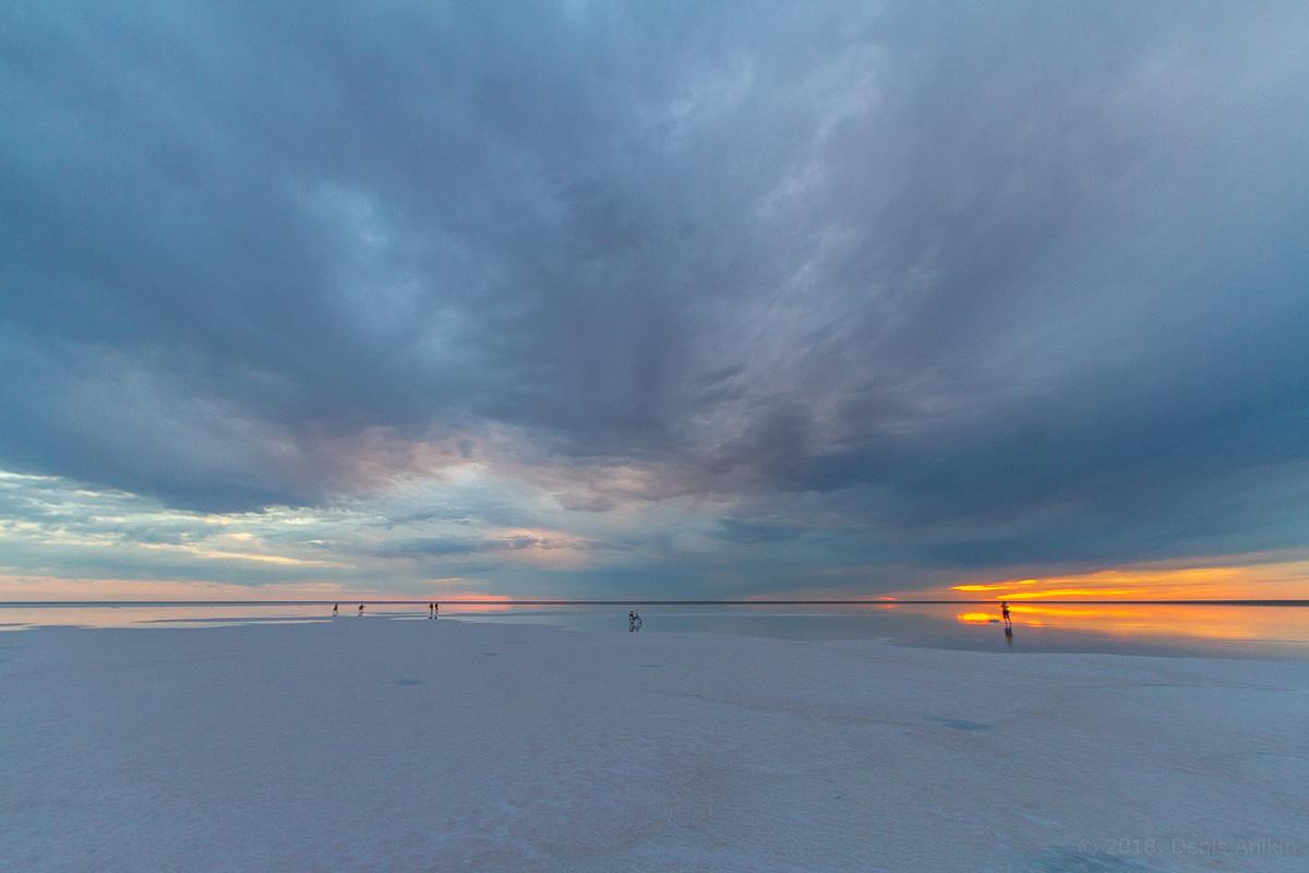 Закат на Эльтоне фото 11
