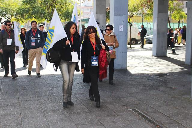 Asamblea ANEF protesta en defensa del empleo y función pública (08-08-2018)