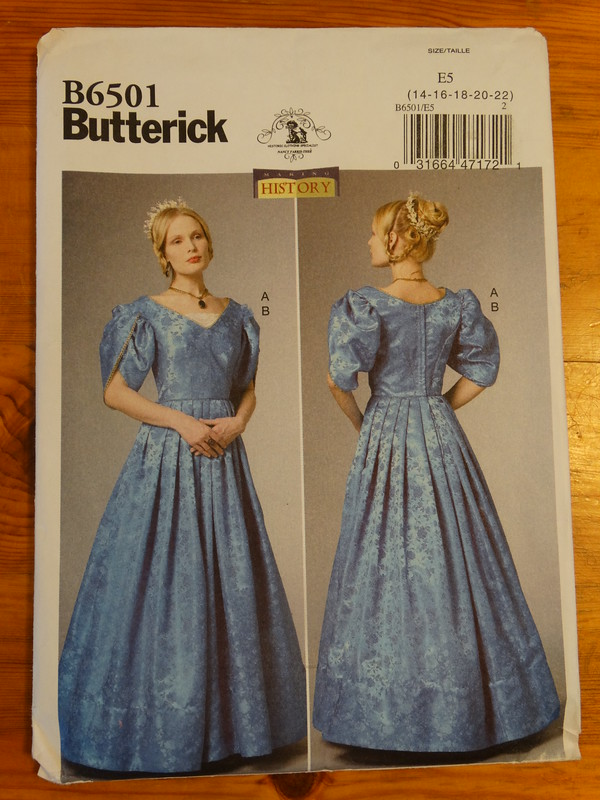 Butterick B6501 Pattern