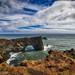 Dyrhólaey Lighthouse - Arch on the beach