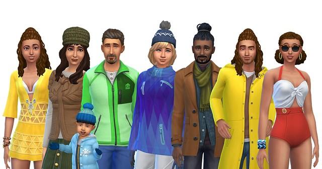 Famílias Oficiais do The Sims 4 Estações Disponíveis para Download