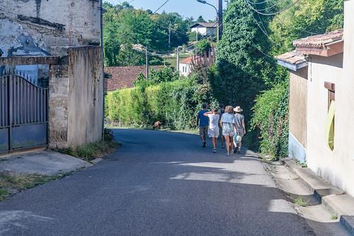 02-Vers Verdelais bourg