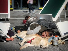 Times Square 2018 | sleep as a pack