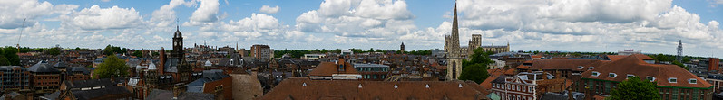Panorama de York, Clifford's Tower