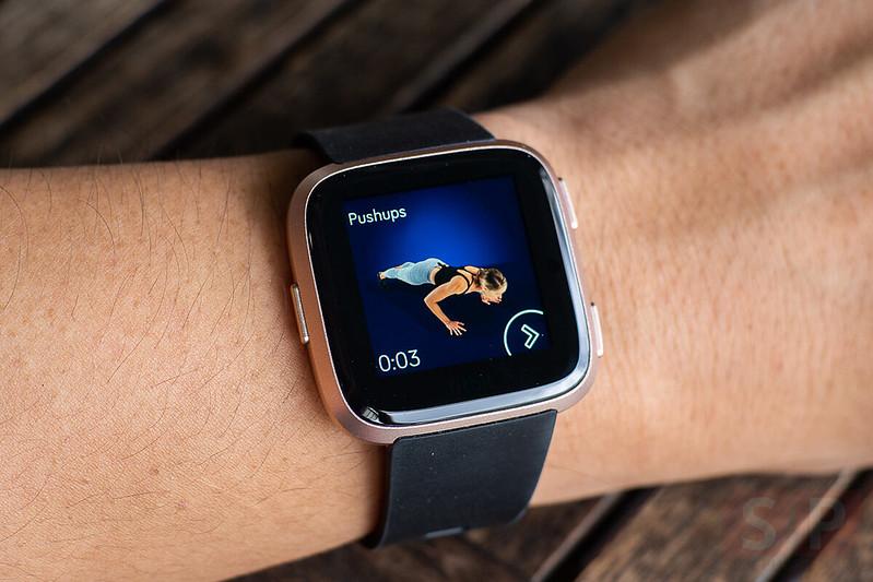 Fitbit Versa: Health