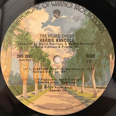 HERBIE HANCOCK:TREASURE CHEST(LABEL SIDE-B)