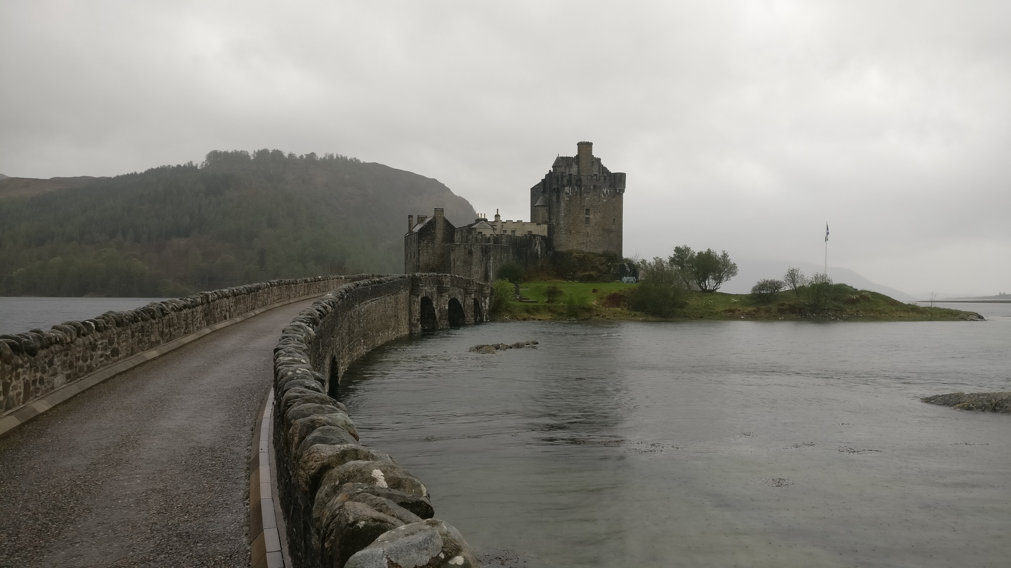 The majestic Eilean Donan Castle