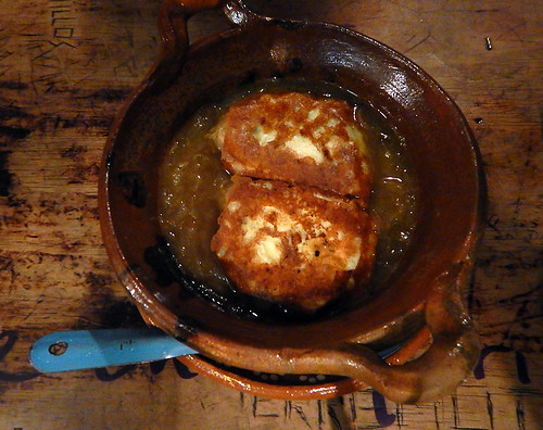 French Onion Soup done Mexican style in Mexico City