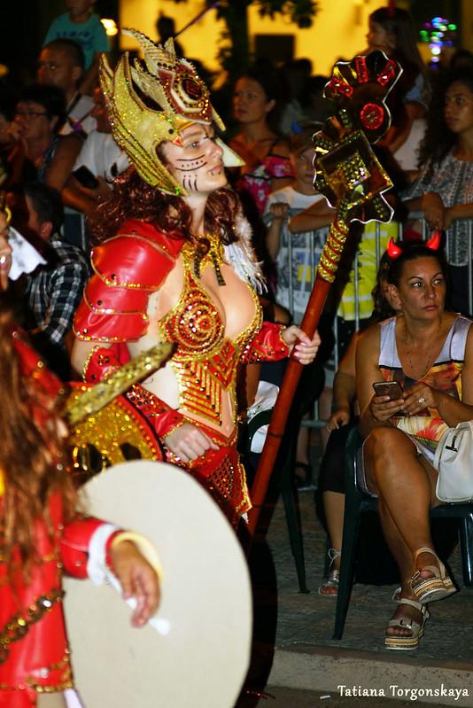 Девушка из карнавальной группы Струмицы