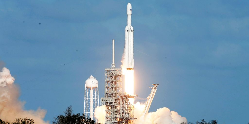 SpaceX remporte un contrat avec l'US Air Force