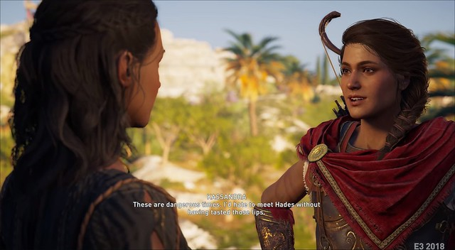 Assassin's Creed Odyssey - Кассандра Лесбиянка