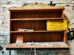 An old and derelict sign makers.   #abandoned #urbex #urbanexploration #derelict #mobilephotograpy #mabrography #oneplus6