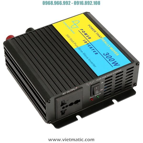 Bộ đổi điện sine chuẩn 12V lên 220V