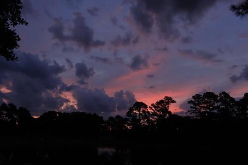 sunrise thunderstorm fairfieldharbour northcarolina cloudsstormssunsetssunrises cloudscape spectacularsunsetsandsunrises dschx20v sony sonyphotographing