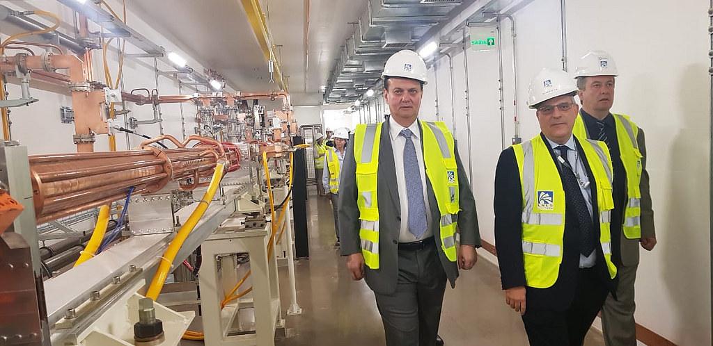 Ministro Gilberto Kassab participa de visita ao Laboratório Nacional de Luz Sincroton. Campinas-SP. 26/06/2018