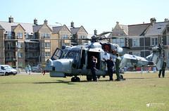 ZZ528 AgustaWestland Wildcat HMA.2, Royal Navy, Weston-super-Mare, Somerset