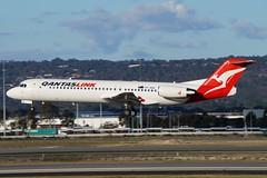 VH-NQE QantasLink Fokker 100