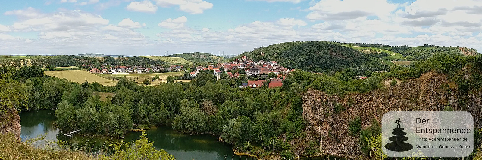 Steinbruch-See und Neu-Bamberg