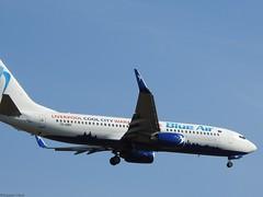Boeing 737-8Q3 WL YR-BMH blue Air ( liverpool special )