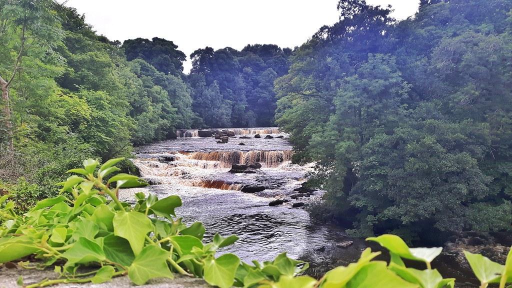 Aysgarth waterfalls, Yorkshire, England