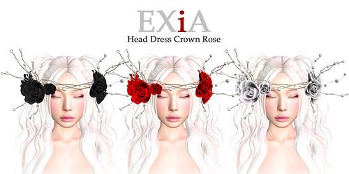 Head Dress Crown Rose