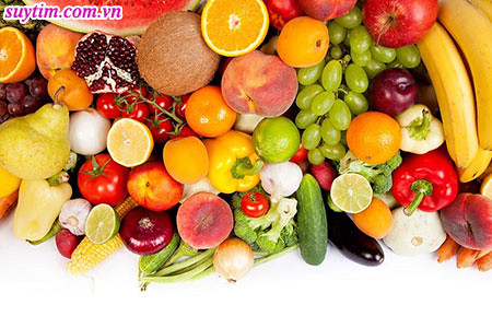 Khi bị suy tim độ 3, nên ăn đa dạng trái cây nhiều màu sắc
