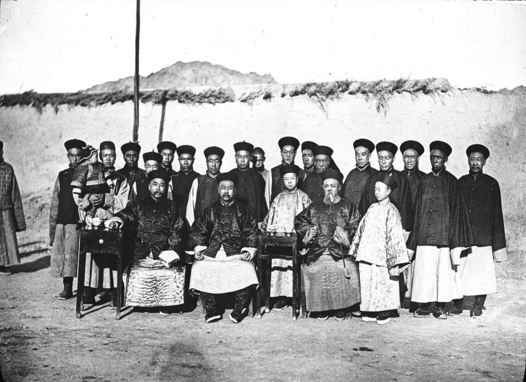 Монголия. Китайские власти Кобдо