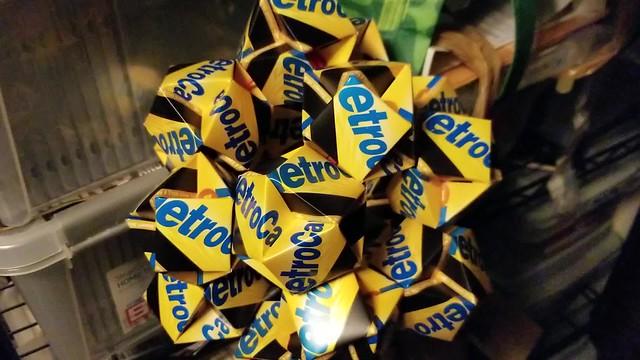 MetroCard Origami Album