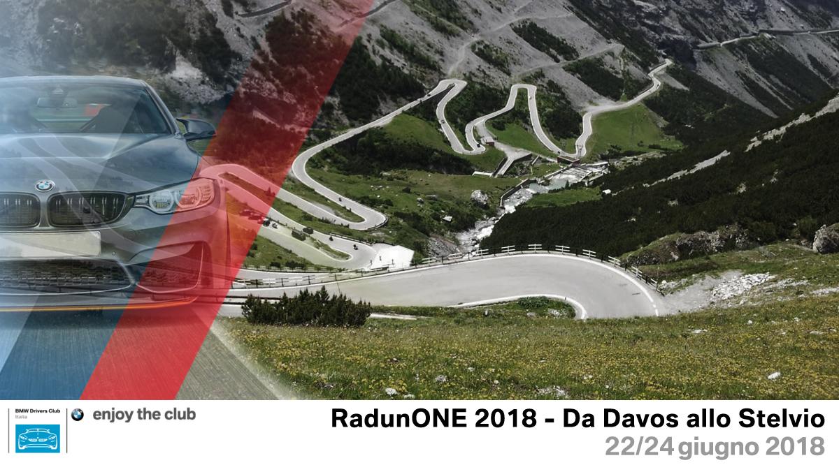 RadunONE 2018: da Davos allo Stelvio – 22/24 giugno 2018