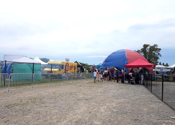 Foodalicious Food Festival entrance