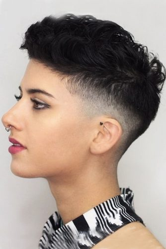 Latest Taper Haircut Styles For Women -Men's Haircut For Women |Now 1