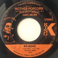 JAMES BROWN:MOTHER POPCORN(LABEL SIDE-B)