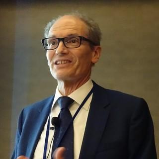 Peter M. Lukehart at Balisage 2018