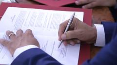 Signature du memorandum