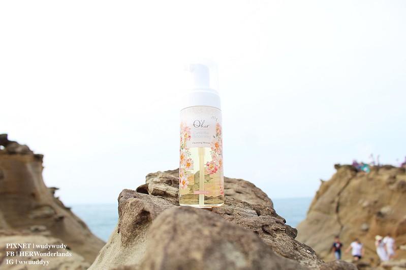 Qher 植感山茶花系列 保濕洗卸慕斯 提亮粉嫩素顏霜24