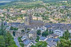 Views of Mende from the Croix de Saint Privat