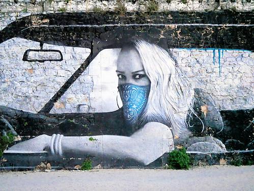 La Rochelle, peinture murale