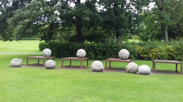 Juxtaposition, Saltwell Park