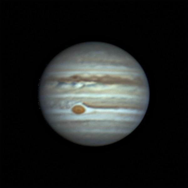 木星 (2018/6/21 20:21) (1000/3000 x 3 de-rotation)