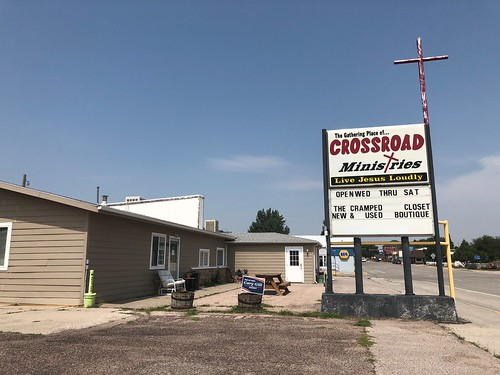 The Gathering Place of Crossroad Ministries, Lusk, Wyoming