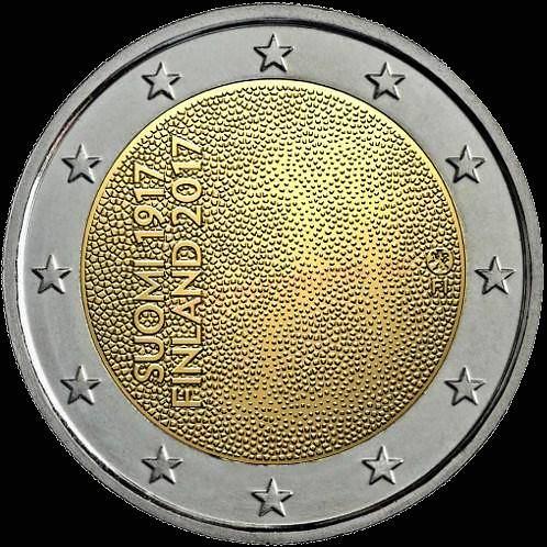 2 Euro Fínsko 2017, 100. výročie nezávislosti Fínska