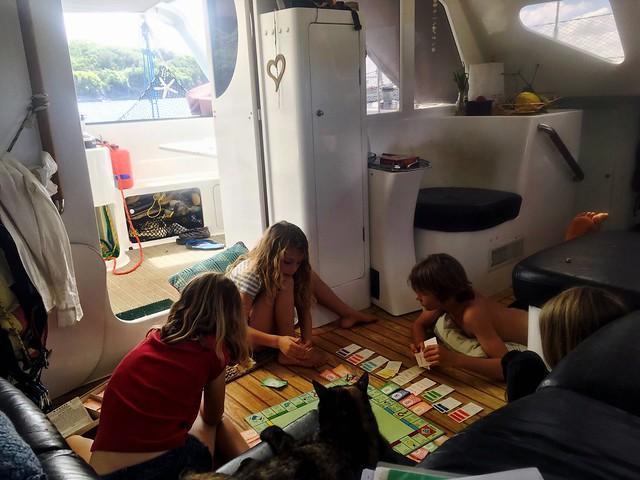 Boatkid Monopoly.