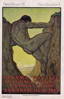 Panama-Pacific poster 13th Labor of Hercules