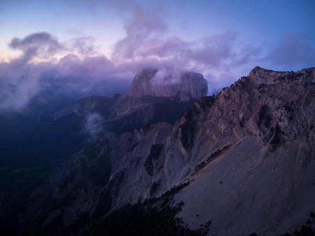 Mont Aiguille dawn