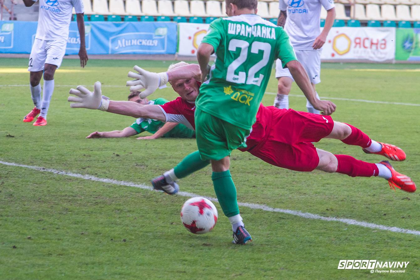 FC Gomel 0:2 FC Isloch. 1/8 finals Belarus cup. 12/08/2018