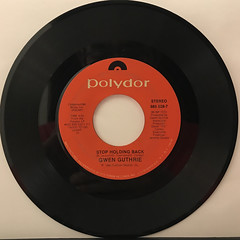 GWEN GUTHRIE:(THEY LONG TO BE)CLOSE TO YOU(RECORD SIDE-B)